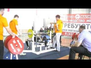 Диляра - жим 57,5 на первенстве России среди студентов
