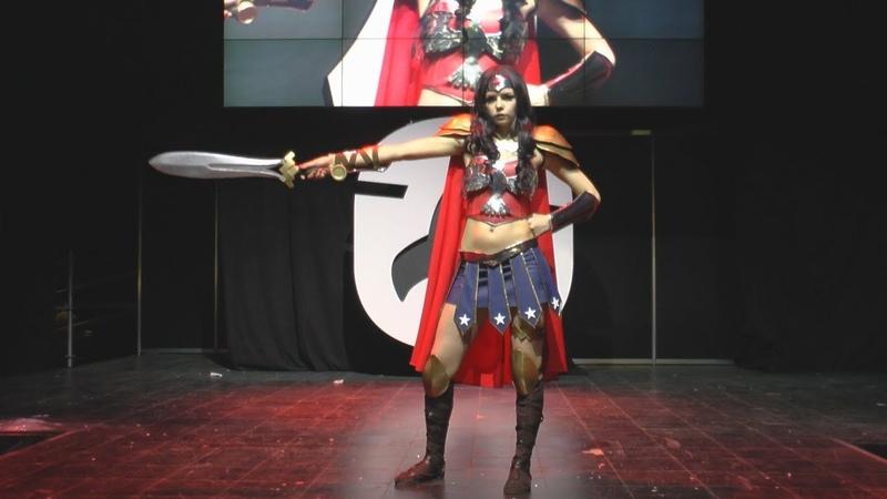 Cosplay Wonder Woman Starcon 2018