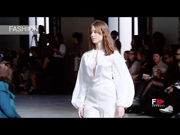 MARQUES ALMEIDA Spring Summer 2019 Paris - Fashion Channel