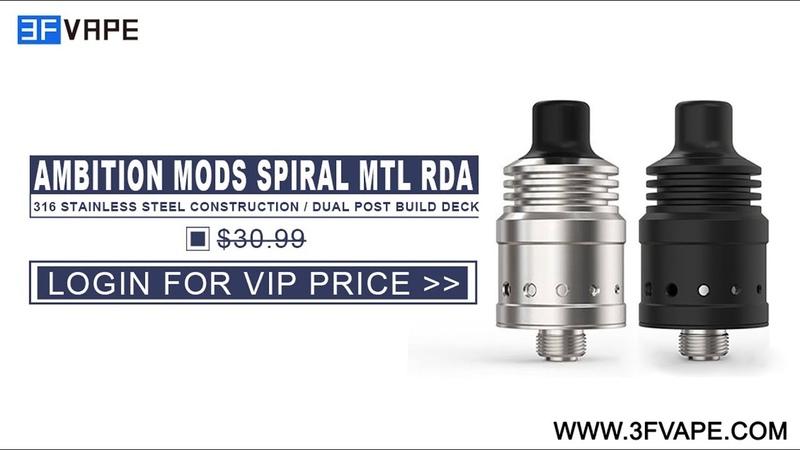 Ambition Mods Spiral MTL RDA