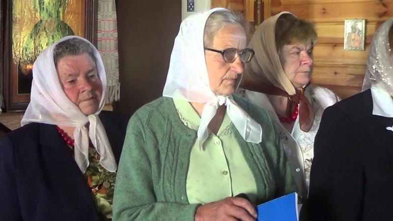 Спевы калектыва Пудляшанкі падчас семінара Народны глас