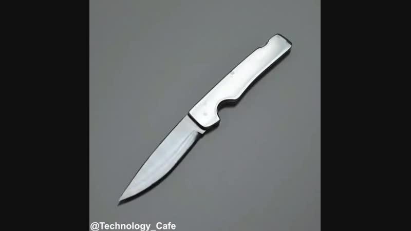 Складной нож из пильного диска циркулярки