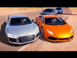 [FRESH] Forza Horizon 3 - AUDI R8 V10 ПРОТИВ LAMBORGHINI HURACAN. БИТВА ТИТАНОВ #2.