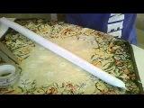 как сделать двух конечный меч из бумаги