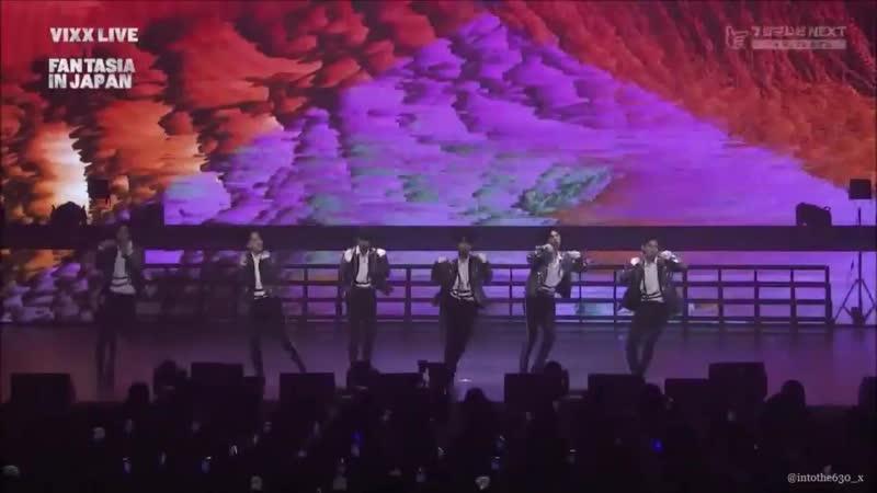 181013 VIXX LIVE LOST FANTASIA IN JAPAN - Odd Sense