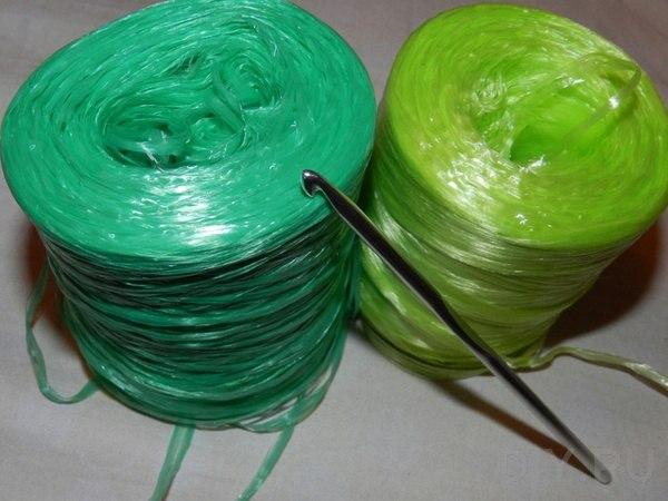 Вязание крючком круглой мочалки с вытянутыми петлями