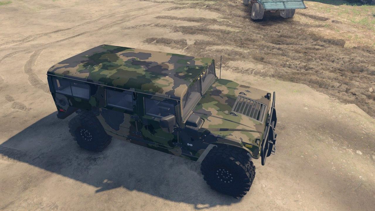 Brute Hummer H1 v1.0 для Spintires - Скриншот 1