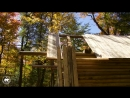 Log Cabin TIMELAPSE Built By ONE MAN In The Forest ( 1080 X 1920 60fps )