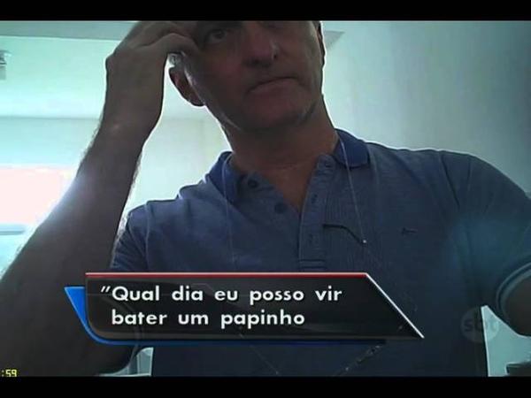 SBT Brasil (07/04/16) Exclusivo: Irmão de Jair Bolsonaro é demitido da Assembleia Legislativa de SP