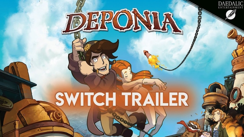 Deponia Announcement Trailer for Nintendo Switch