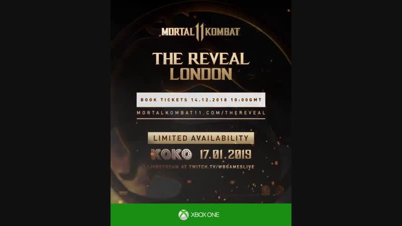 MK11 The Reveal - London!