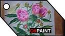 Рисуем цветы Пионы. Drawing Flowers Peonies