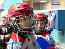 В Красноярске прошёл первый матч по хоккею с мячом на обновлённом стадионе Енисей
