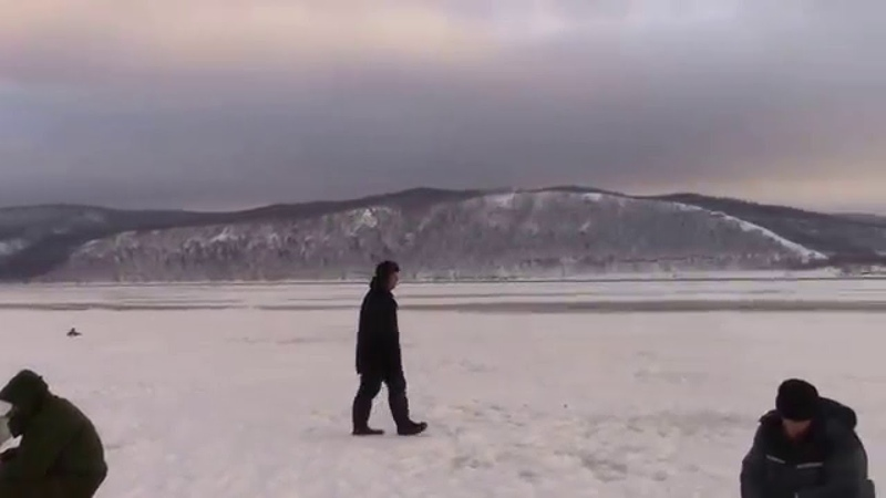 Зимняя рыбалка в Копылово (Тольятти). Виды 31. 01. 2016