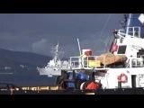 эсминец USS Truxtun плывёт в Черное море, радуя серця поцреотов