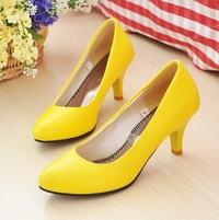 Желтые Туфли Фото