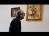 🔴Небольшой видео-репортаж с выставки  картин Анастасии Булгаковой.