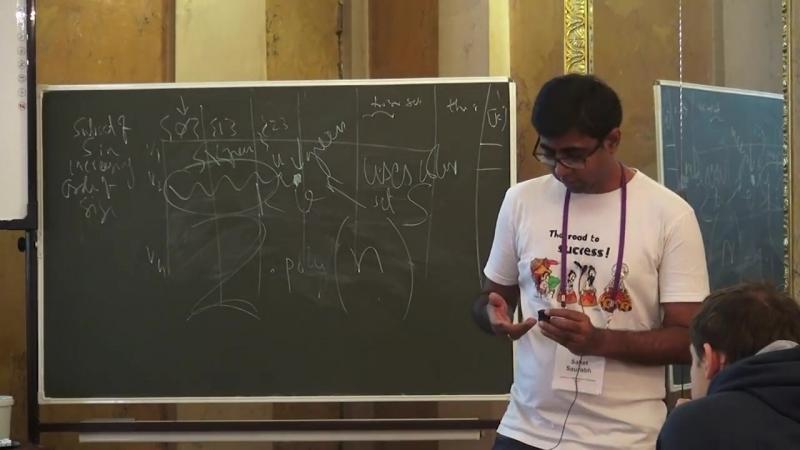 Lecture 12   Recent Advances in Algorithms   Saket Saurabh