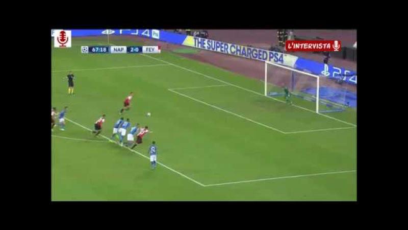 Napoli Feyenoord REINA PARA IL RIGORE
