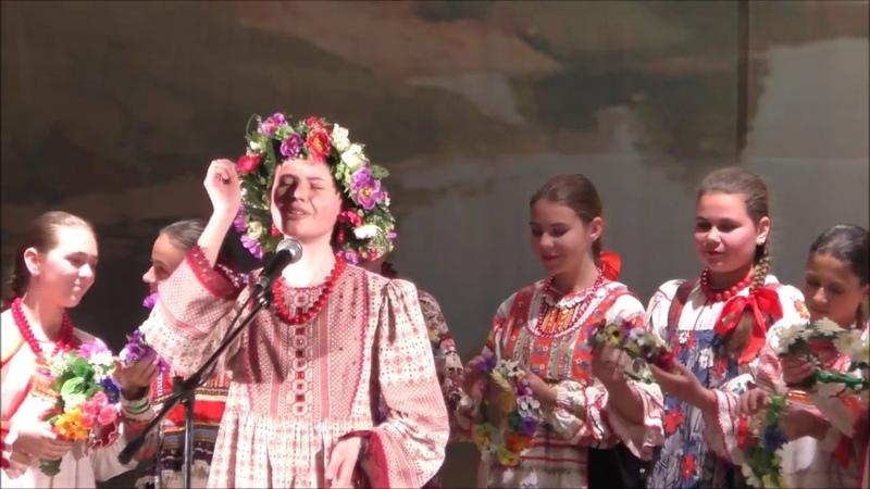 Вероника Сыромля Реченька Из отчетного концерта ансамбля Калинка