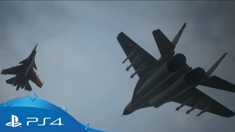 Ace Combat 7: Skies Unknown | Трейлер к выходу игры | PS4