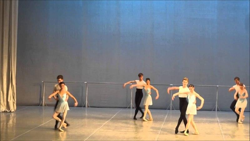 Final year state duet exam - Bolshoi Ballet Academy 2016