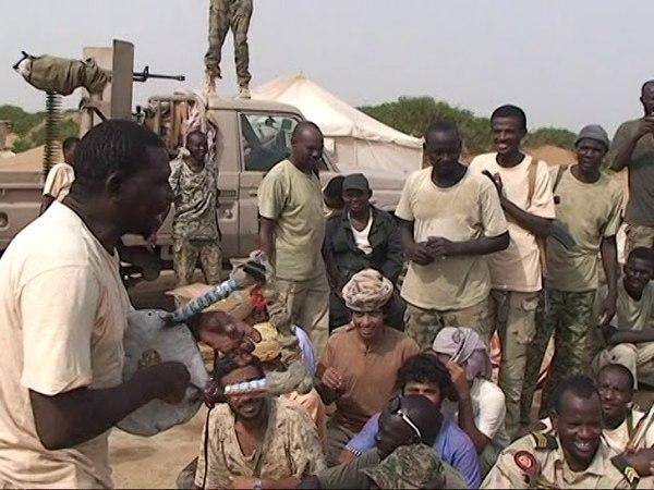 الجيش السوداني في اليمن واغاني النصر