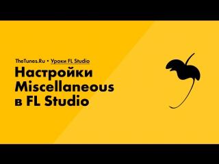 010. Настройки Miscellaneous в FL Studio
