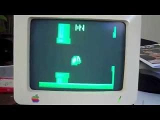Фанат Mac запустил Flappy Bird на 1-мегагерцовом Apple II