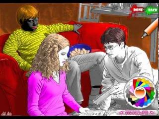 Гарри Поттер и Принц-полукровка — Раскраска (Harry Potter Part 6)