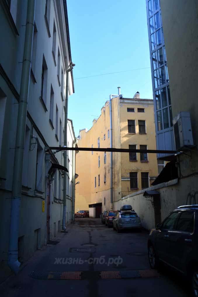 Дворы Санкт-Петерюурга