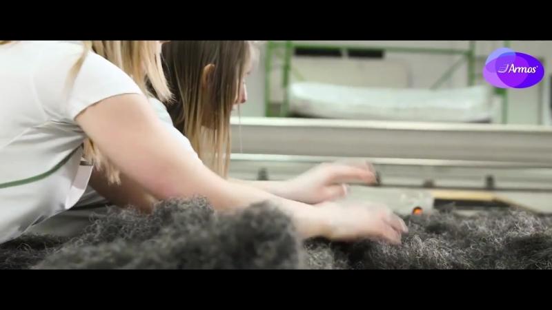 Конский волос. Материалы используемые в матрасах Armos.