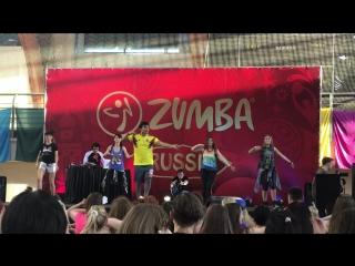 мастер класс ZUMBA Fitness с Beto Perez в Москве