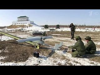 В Восточном военном округе служащие специального женского расчёта отрабатывают запуски беспилотников - Первый канал