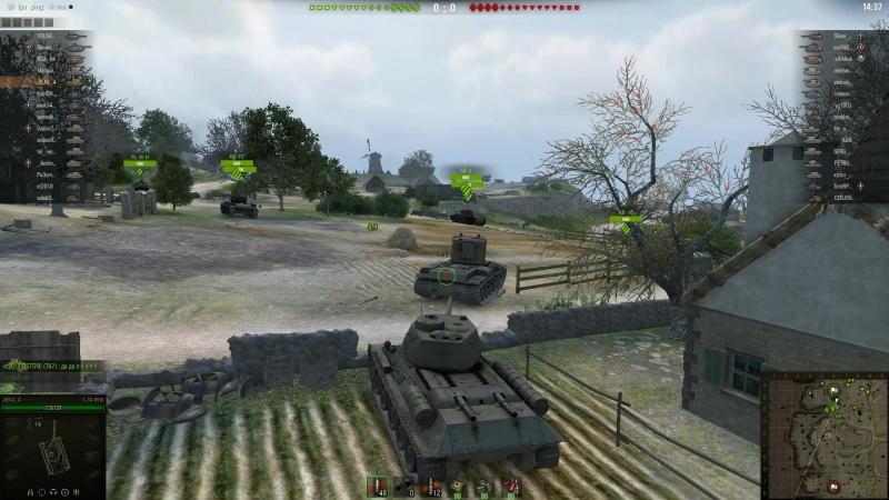 World of Tanks Из-зи катка: наглая победа