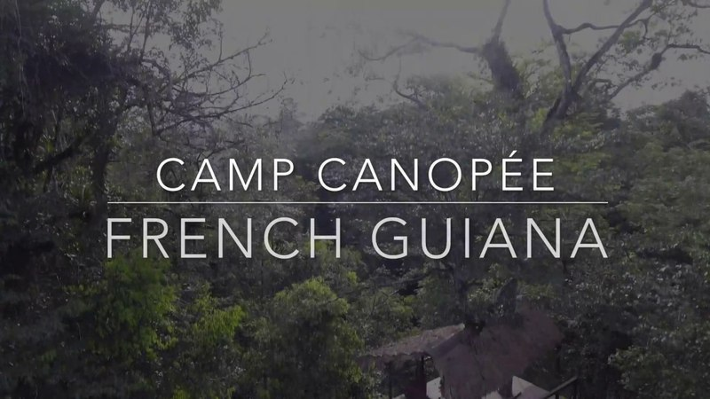 Camp Canopée French Guiana by Ina Di Air