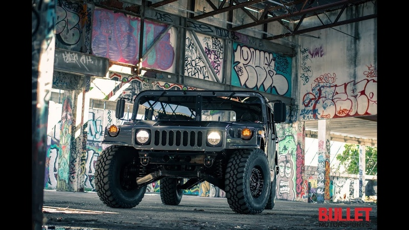 Dr. Griffin's AM General Humvee Build in Wynwood, Miami [HD] - Bullet Motorsports Inc.
