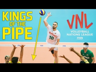 Top » 30 best volleyball pipes. kings of the pipe. vnl - 2018