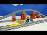Строим из Lego Duplo, LEGO DUPLO 10872 Train Bridge and Tracks, Лего Дупло Железнодорожный мост
