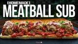 Meatball Sub Sandwich Recipe SAM THE COOKING GUY 4K