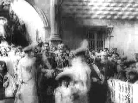 Царь Николай II Вербное воскресенье в Москве 1903 г
