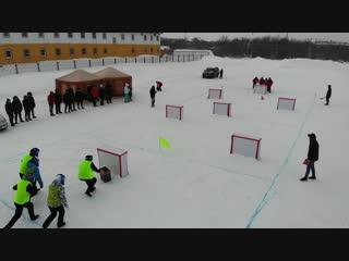 Снежные битвы Усинск 2019