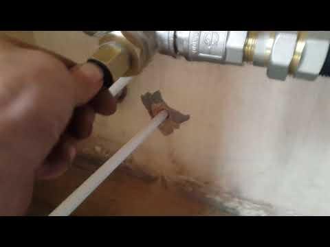 Как проложить греющий кабель в трубу