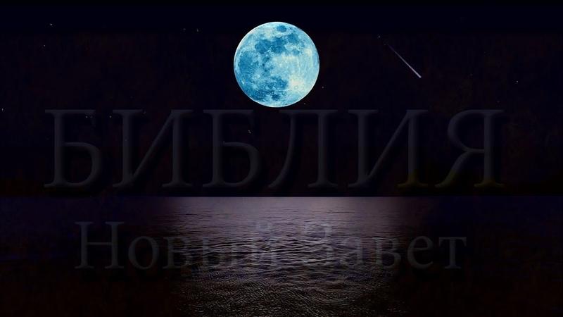 НОВЫЙ ЗАВЕТ ПОСЛАНИЯ АПОСТОЛА ИОАННА с 1Ин 5гл 11ст 2Ин 3Ин по11ст Видео Ночной Океан под Луной