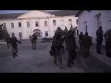 захват бойцами спецназа  ГРУ,1 батальона морской пехоты Украинской армии, в Феодосии!