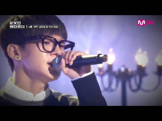Mnet [EXO 902014] 엑소 첸이 부르는 조성모 - to heaven EXO Chens special stage Jo Sung Mo - To Heaven