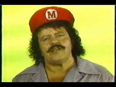Captain Lou Albano - WGBS Philly 57 Just Say No Drugs PSA
