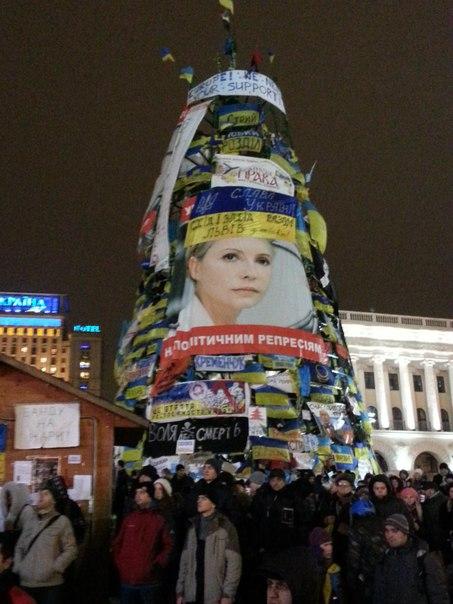Ялинка в Києві 2014