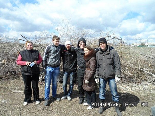 Светлана Кузнецова с волонтерами