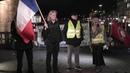 Gilets Jaunes Allemagne défendre la démocratie - Gelbe Westen live aus Hamburg 8. Januar 2019 Part 2